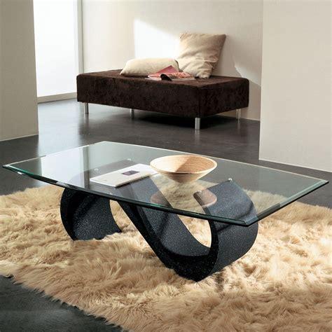 tavolo salotto runi tavolino salotto in vetro moderno ovale 120 x 70 cm