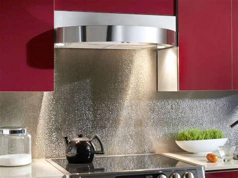 stainless steel backsplashes for kitchens 20 stainless steel kitchen backsplashes hgtv