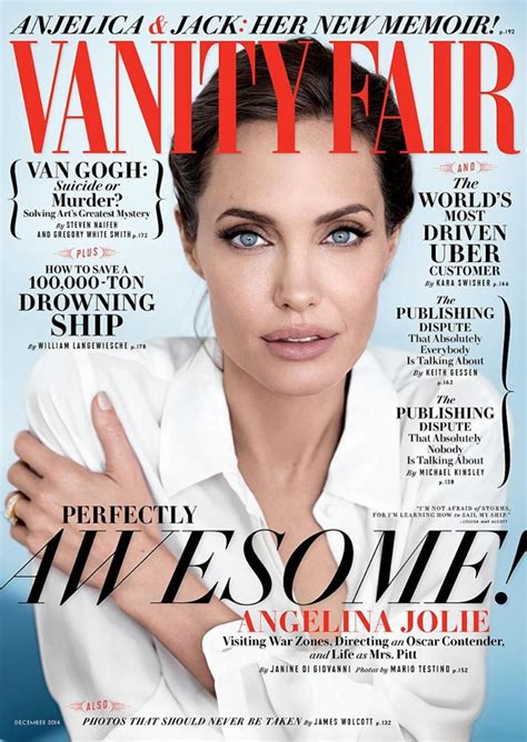 angelina jolie covers the december 2014 issue of vanity