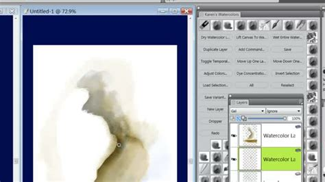 corel painter pattern brushes corel painter 12 demo real watercolor category brushes