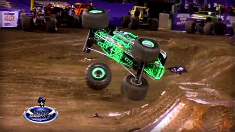 monster truck crash best of monster jam trucks accidents crashes jumps