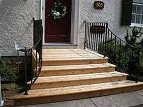 Wooden Front Stairs Design Ideas 1000 Ideas About Front Door Steps On Pinterest Front Doors Front Steps And Concrete Steps