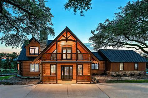custom log home custom home builder san antonio robare custom homes