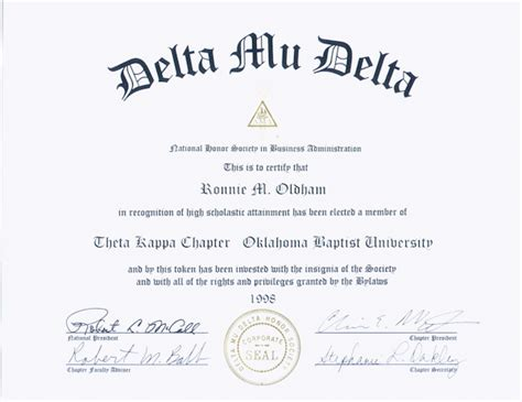 national honor society certificate template national honor society certificate template delta mu delta