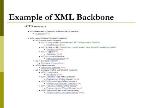xml metadata tutorial electronic submissions
