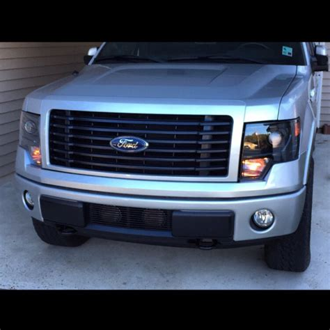 2013 f150 led light bar 2013 f 150 grill for 20 led bars autos post