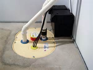 install sump in basement an indoor or outdoor sump