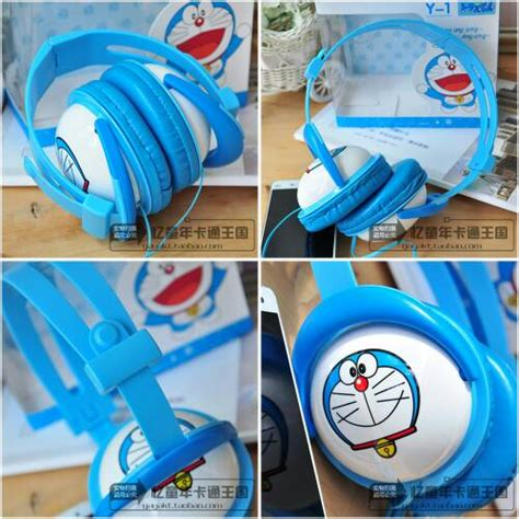 Headset Doraemon jual headset headphone earphone y1 doraemon a luhushop