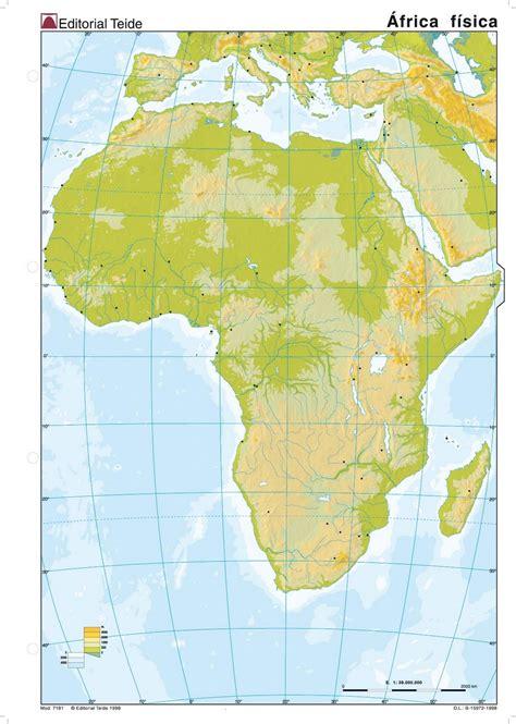 mapa de africa interactivo mapa mudo de africa fisico interactivo