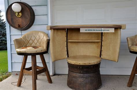 whiskey barrel bench whiskey barrel table and chairs beneficial whiskey