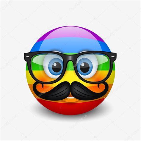 usar imagenes vectoriales emoticon de hipster usar anteojos archivo im 225 genes