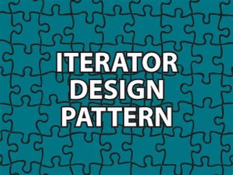 Iterator Pattern Youtube | iterator design pattern youtube