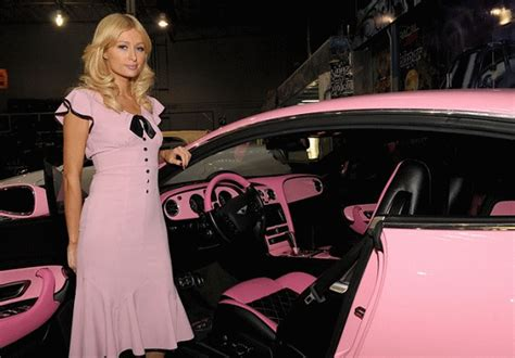pink bentley interior fashion