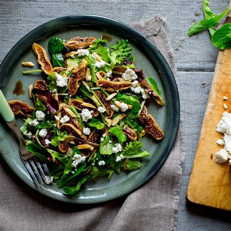 goat cheese salad fig goat cheese salad recipe eatingwell