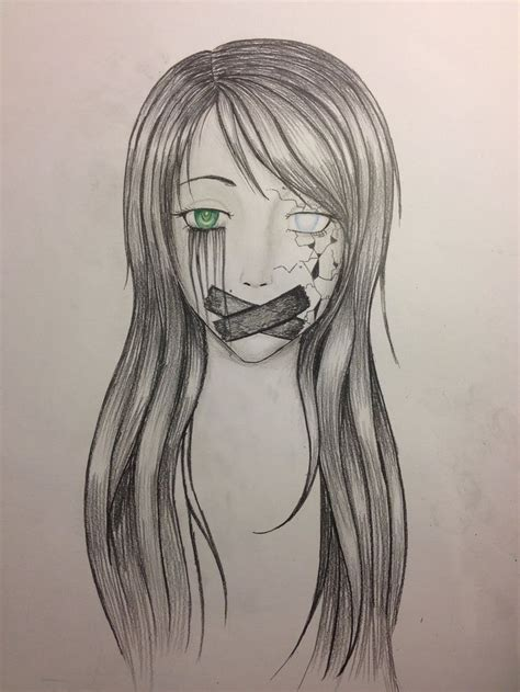 Sketches L by 22 Best Self Harm Drawing Images On Depressing