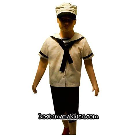 Baju Setelan Anak Senhukai 3pc kostum baju profesi anak pelaut kostum anak lucu