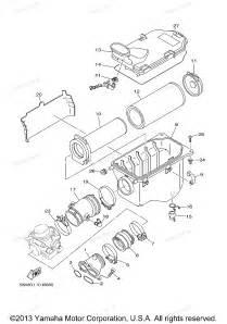 2005 grizzly 660 yfm66fat yamaha atv intake diagram and parts