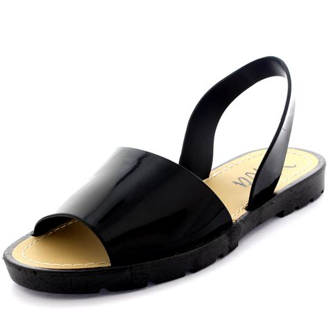 flip flat shoes sling back peep toe pool sliders flip flops flat