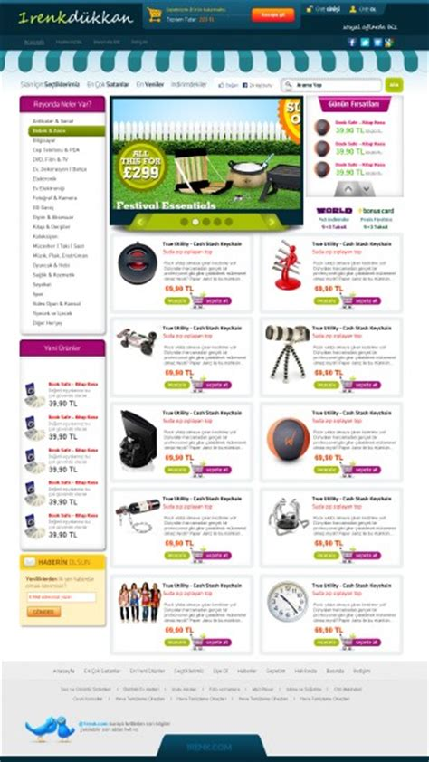 eshop psd template psd file free download