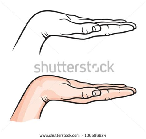 Cupped Outline by 11 Cupped Vector Images Cupped Clip Cupped Drawing And Cupped