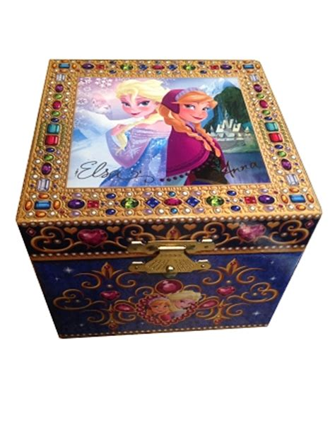 disney musical jewelry box and elsa frozen