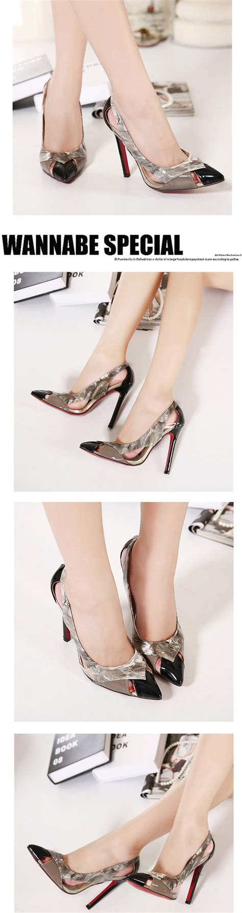 Heels D G 653 7 size 4 9 summer shoes bottom high heels