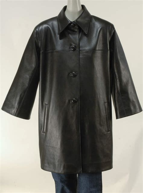 leather swing jacket italian lamb leather swing coat b b hawk san francisco