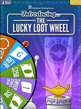 Pch Fan Page - introducing the lucky loot wheel on the pch fan page pch blog