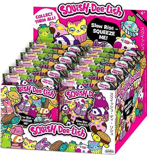 squishy mystery box squish lish animals series 1 mystery box 12 packs