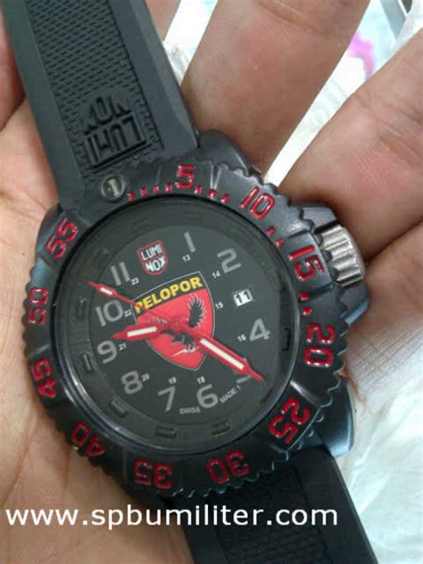Jam Tangan Militer Luminox jam tangan luminox pelopor spbu militer