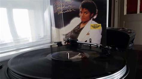 michael jackson thriller 12 vinyl michael jackson billie jean from thriller lp vinyl 320