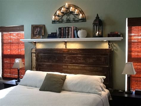 old door headboard ideas farm door headboard ideas bedroom pinterest the old