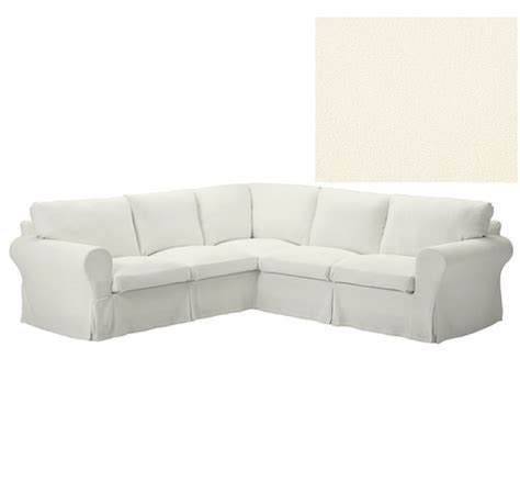 Slipcovered Sofas Ikea by Ikea Ektorp Slipcover Corner Sectional Sofa 2 2 Cover