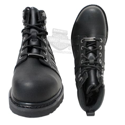 mens low cut work boots 93176 harley davidson 174 mens chad steel toe black leather
