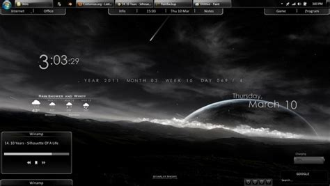 best rainmeter suites 50 amazing rainmeter desktop skins take your desktop to