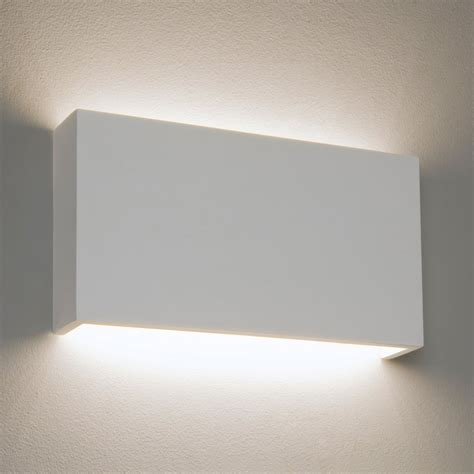White Wall Lights Astro 325 7172 White Plaster Led Wall Light At