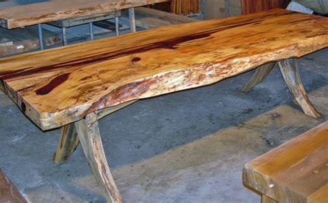 edge reclaimed tamarind wood dining table 3 x 8