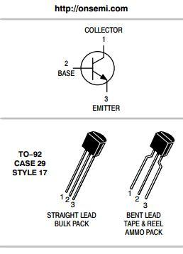 datasheet of transistor 2n2222 2n2222 datasheet pdf on semiconductor