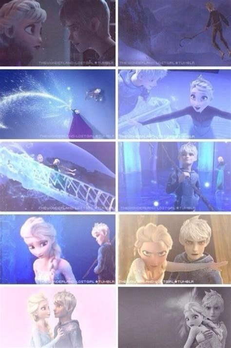 film elsa dan jack frost queen elsa and jack frost love this so much