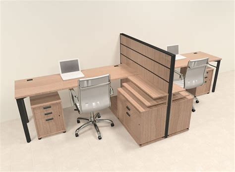 2 person desks two person modern l shaped workstation office desk set