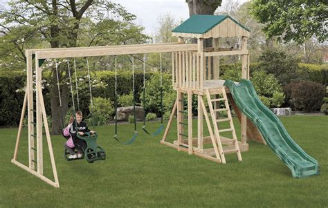 amish swing sets backyard playstation model 703 amish built outdoor
