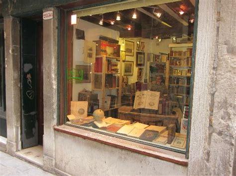 libreria antiquaria venezia libreria antiquaria segni nel tempo venezia foto di