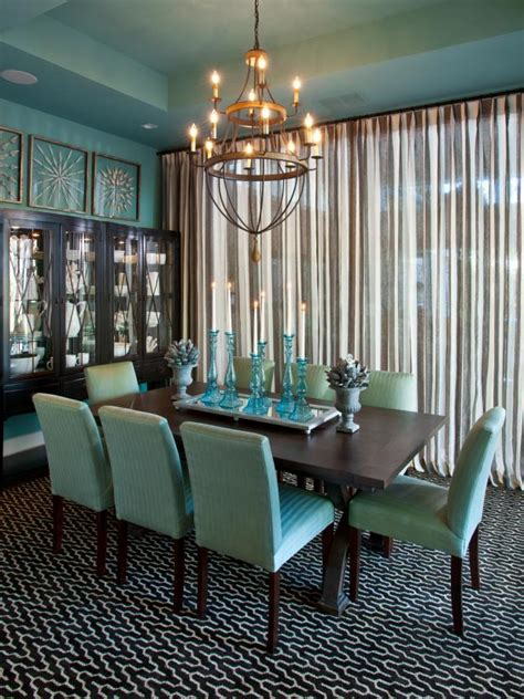 Eclectic Blue Dining Room Photo Page Hgtv