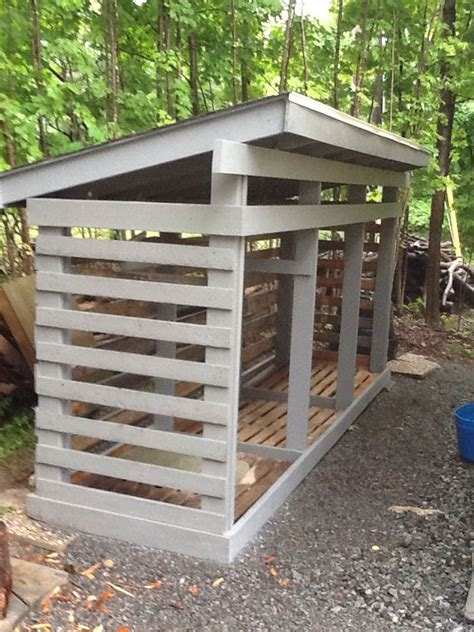 wood shed  pallets outdoors shed storage storage