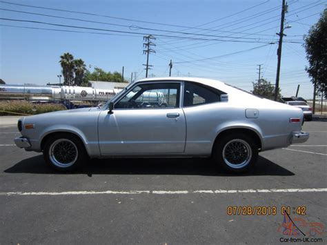 mazda rx3 coupe mazda rx3 coupe silver 5 speed clean 12a rx2 rx4 rx7