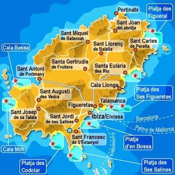 0004488962 carte touristique ibiza and infos sur ibiza carte touristique arts et voyages