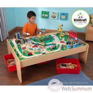 Kidkraft Train Table Table De Train Et Circuit En Bois Waterfall Mountain