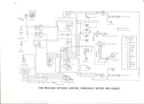 free auto wiring diagram 1965 ford mustang interior light