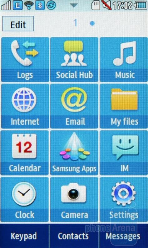 java themes samsung star 2 samsung star ii review interface and functionality