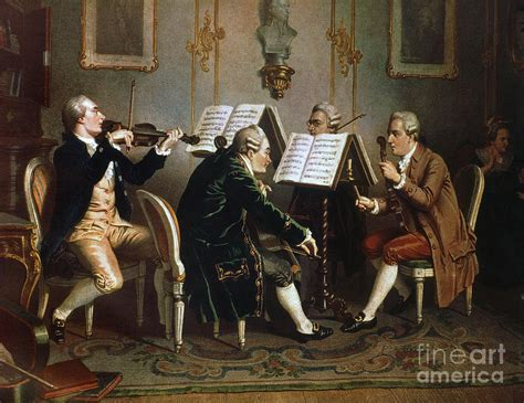 Arts String Quartet - string quartet painting by granger